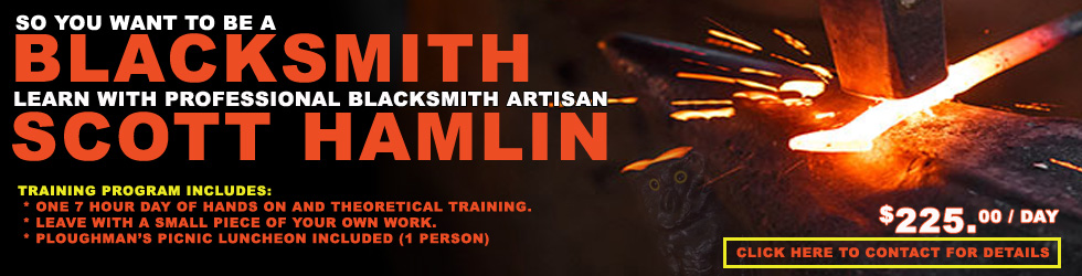 LEARN TO BLACKSMITH - BLACKSMITH TRAINING COURSE
